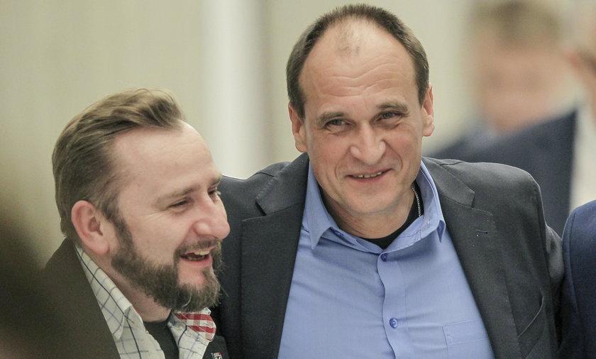 Paweł Kukiz i Piotr Liroy-Marzec