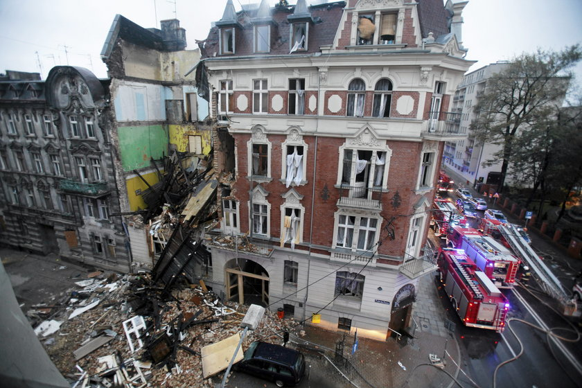 Katastrofa w Katowicach