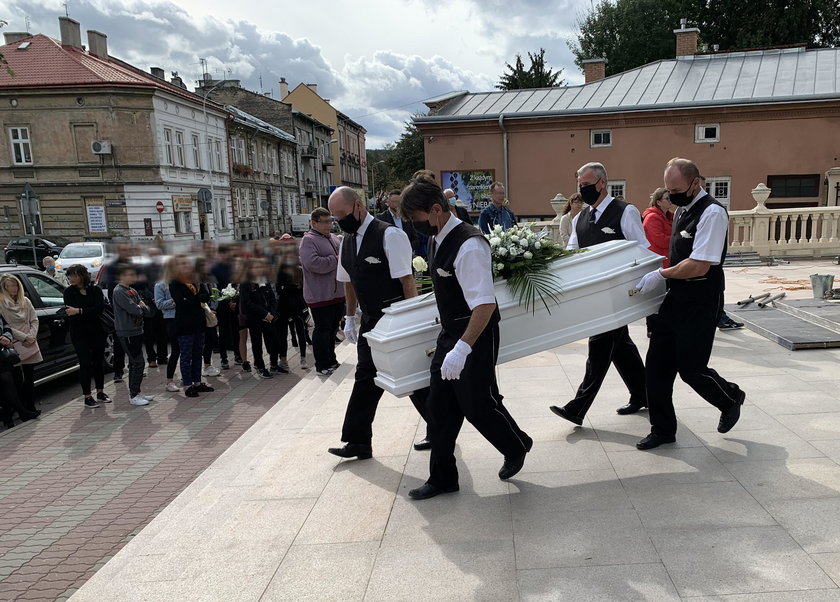 Pogrzeb Kamilka († 12 l.)