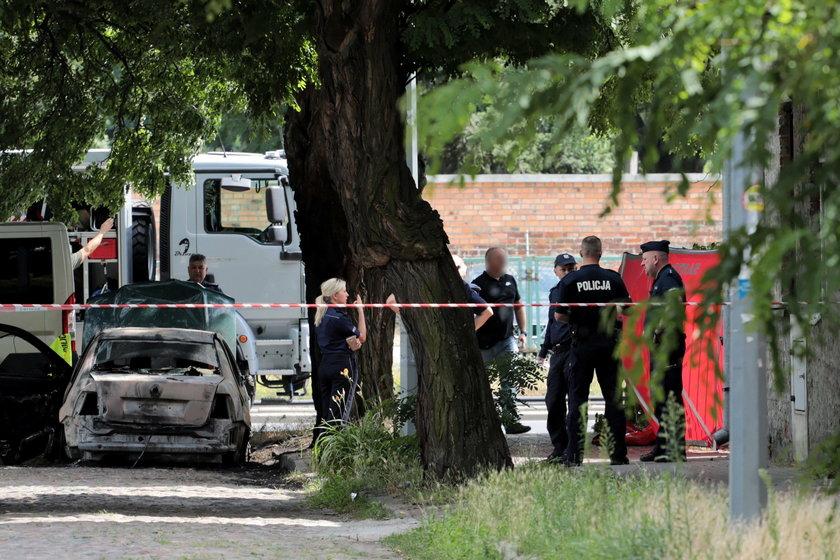 Strzały w Warszawie. Nie żyje kobieta, ranny nastolatek