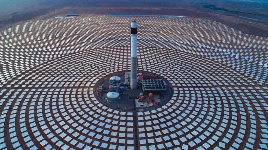 Elektrownia słóneczna Noor Ouarzazate w Maroku
