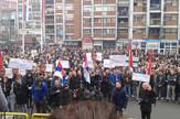 Protest Kosovska Mitrovica_foto Gradjanska inicijativa SDP