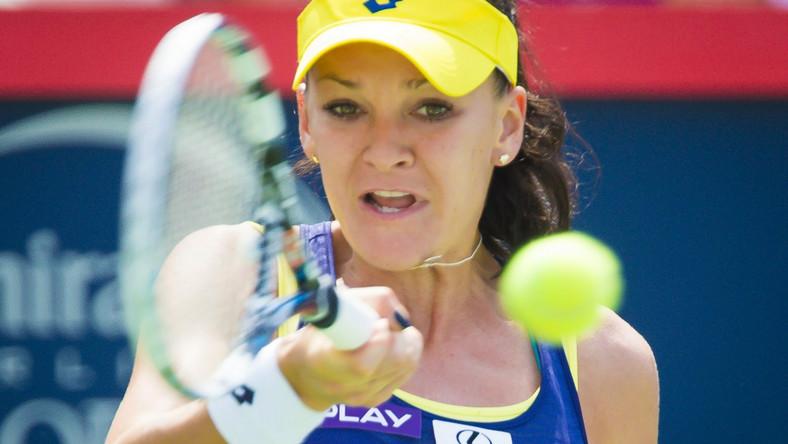 Tak Radwańska cieszyła się ze zwycięstwa nad Williams