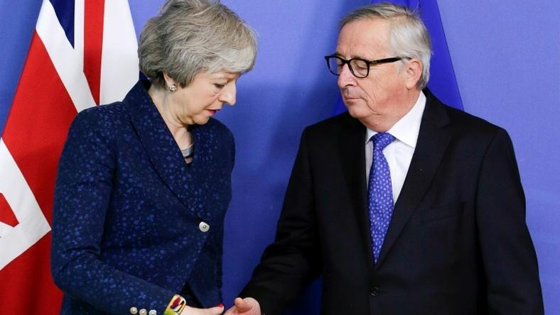 "British Prime Minister Theresa May meetings in Brussels on February 7 made no breakthrough and fears of a ""no-deal"" scenario are running high"