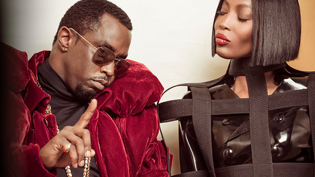 "Naomi Campbell & Sean ""Diddy"" Combs / Foto: Pirelli"