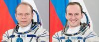 Członkowie załogi rakiety Sojuz