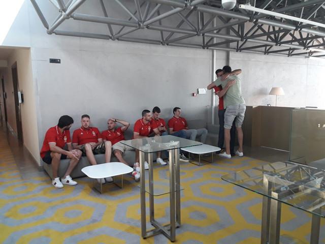 Košarkaši na okupljanju reprezentacije
