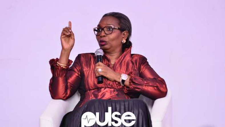 Business magnate and CEO Chair Centre; Ibukun Awosika at TFD Series in Lagos