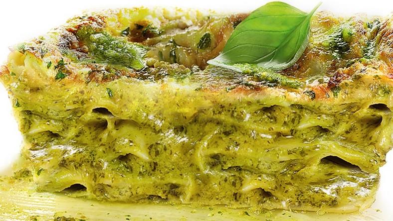 Lasagne z pesto bazyliowym