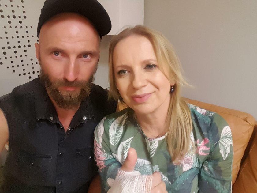Marzena Rogalska i Pan Ząbek