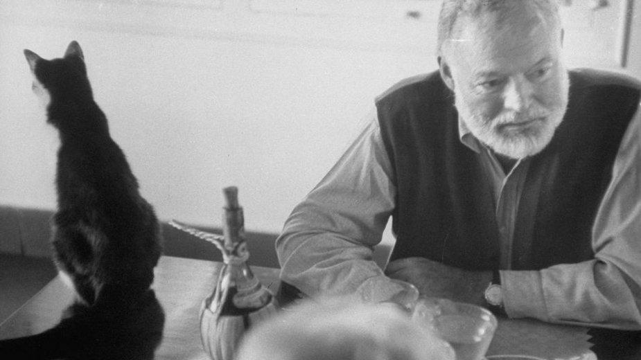 Ernest Hemingway w domu na Key West