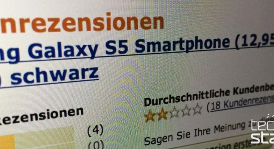 Miese Noten für das Galaxy S5: Kippt die Samsung-Stimmung?