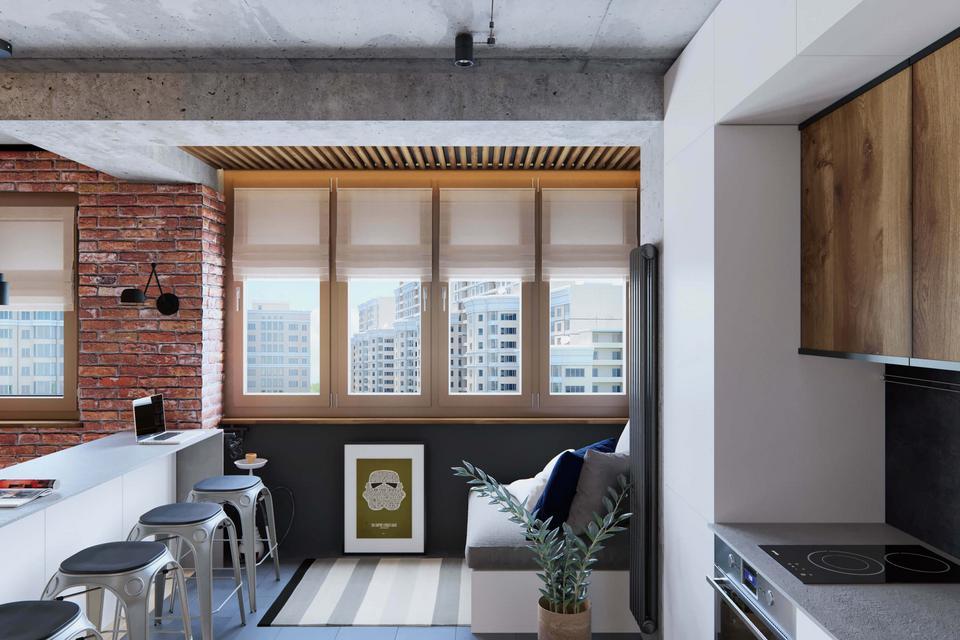 Mieszkanie idealnie skrojone dla singla