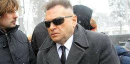 Rutkowski na pogrzebie Madzi