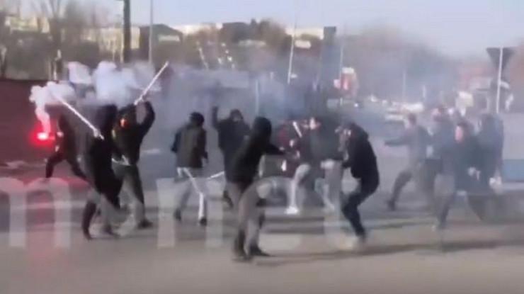 Navijačka tuča u Severnoj Makedoniji