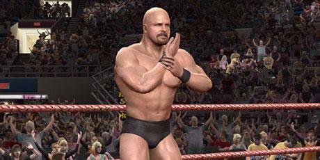 <P>3. Stone Cold Steve Austin (seria WWE)  </P>Ten były mistrz WWE, jest łysy i dumny z tego. Lepiej z nim nie zadzierać, gdyż słynie z gwałtownego charakteru.