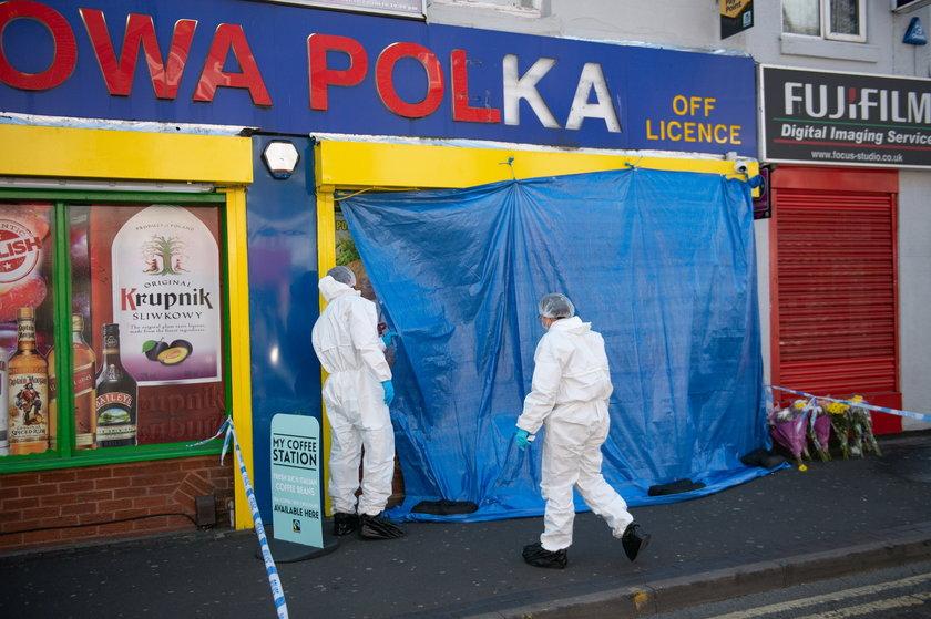 Smethwick. 17-latek śmiertelnie raniony w polskim sklepie Nowa Polka
