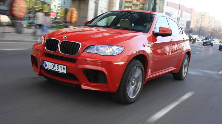 BMW X6 M - 555 KM kontra 2380 kg