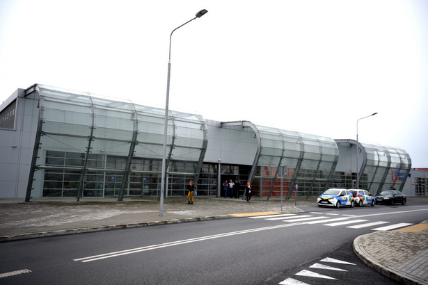 Terminal lotniska w Radomiu