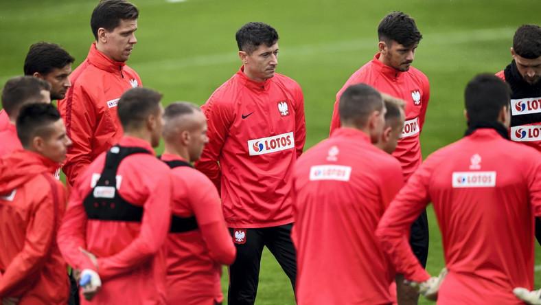 Polacy przygotowują się do meczu