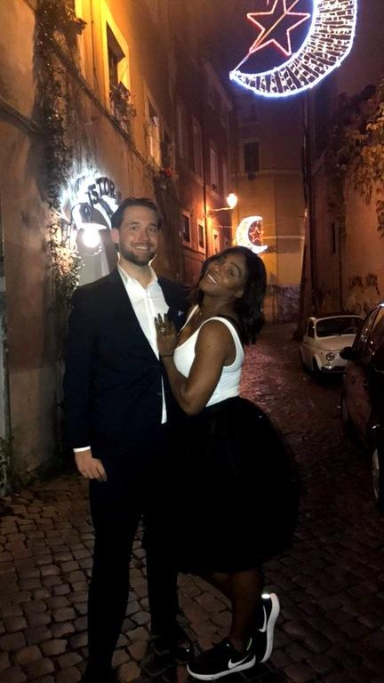 Serena Williams i Alexis Ohanian
