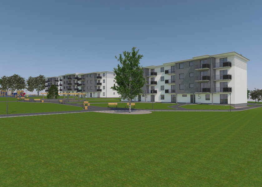 Tak będzie wyglądało nowe osiedle przy ul. Zbożowej w Gliwicach
