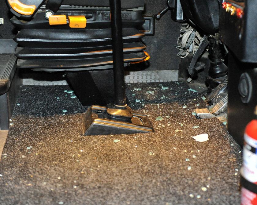Zderzenie autobusów pod Skawiną