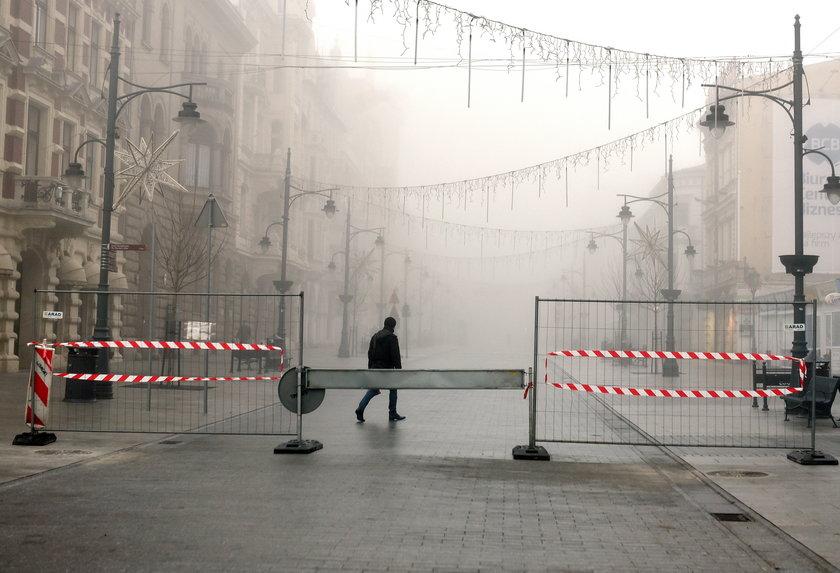 Przedłuża się remont ul. Piotrkowskiej prowadzony w ramach przebudowy trasy W-Z
