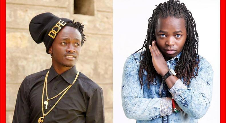 Singer Kevin Bahati with M4J (Instagram)