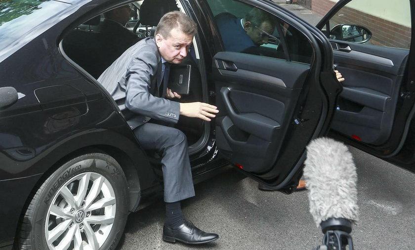 Mariusz Błaszczak będzie miał do dyspozycji nowe limuzyny
