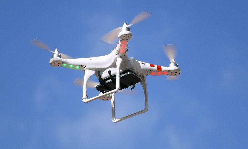 Dron z 50 metrów wykrywa gorączkę