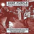 "Deep Purple - ""Days May Come Days May Go"""