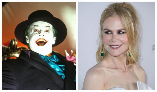 Džoker i Nikol Kidman : vidite li sličnosti?