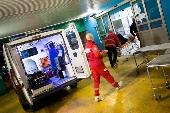 NOĆ U BEOGRADU Jedno ubadanje i više intervencija za kovid pacijenate