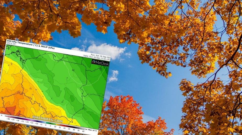 Przed nami bardzo ładny, jesienny dzień. Sprawdź prognozę pogody!