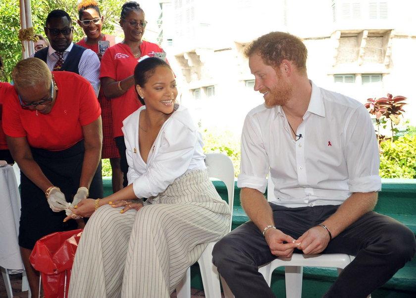 Książę Harry spotkał się z Rihanną