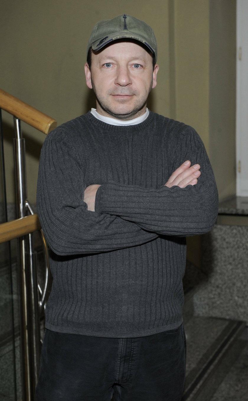 Zbigniew Zamachowski w czapce