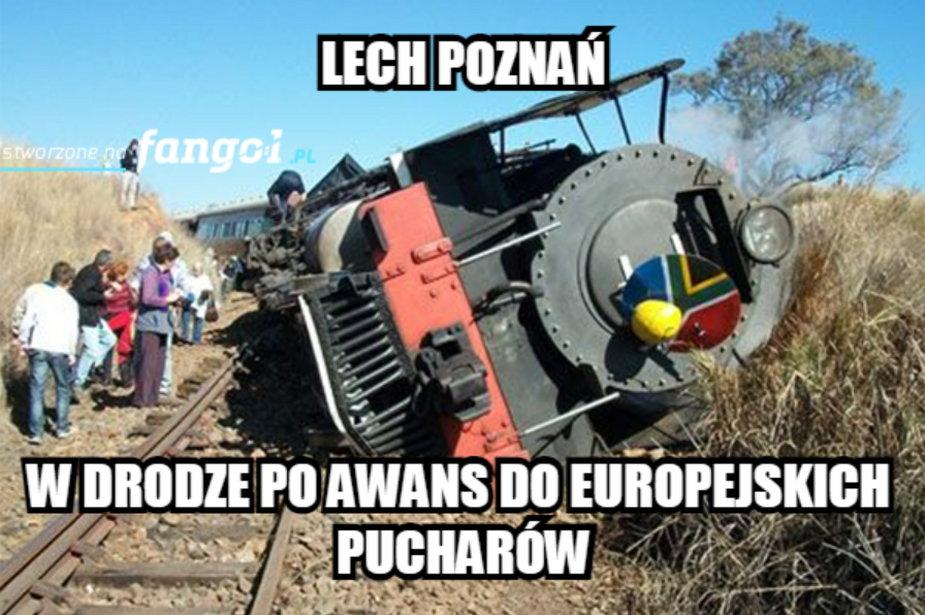 Lech Poznań odpadł w Pucharze Polski z Rakowej Cżestochowa