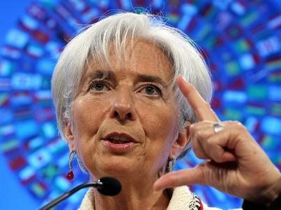 Christine Lagarde, szefowa Międzynarodowego Funduszu Walutowego