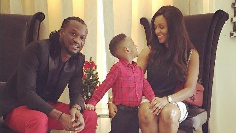 Paul Okoye and Family celebrate Christmas together