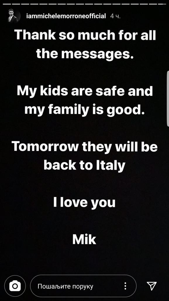Mikele na Instagramu