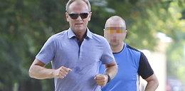Premier Tusk i jego najdroższy jogging na świecie