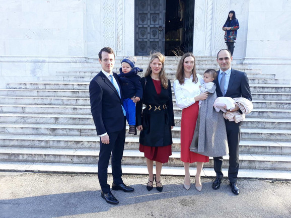 Iz Londona na Oplenac: Princ Filip sa porodicom
