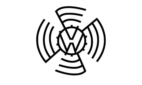 Folksvagenov logo sa svastikom