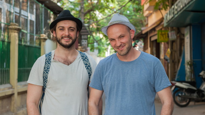 Michał Żurawski i Ludwik Borkowski