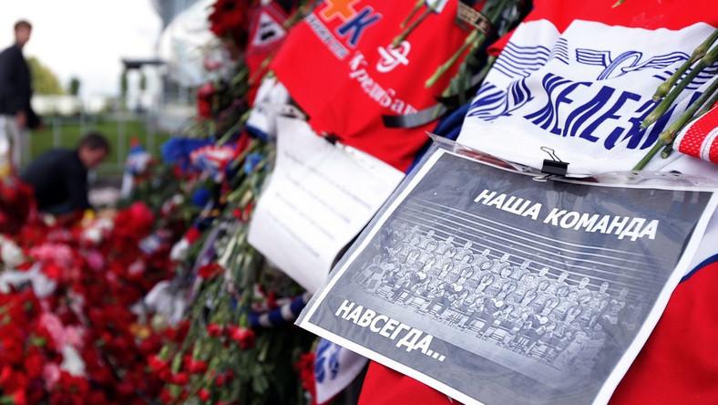 Rosyjskie kluby pomogą w odbudowie drużyny hokejowej z Jarosławia