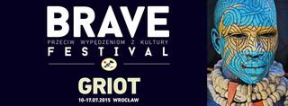 Brave Festival 2015. Grioci tematem przewodnim 11. edycji