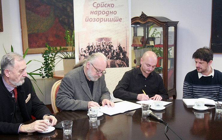 Selimir Radulović, Zoran Đerić, Predrag Radonjić i Milovan Filipović.