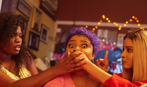 Bisola Aiyeola, Bimbo Ademoye and Adesua Etomi Wellignton are three of the popular member of the cast of Jade Osiberu's new film, 'Sugar Rush'. [Instagram/Jade Osiberu]