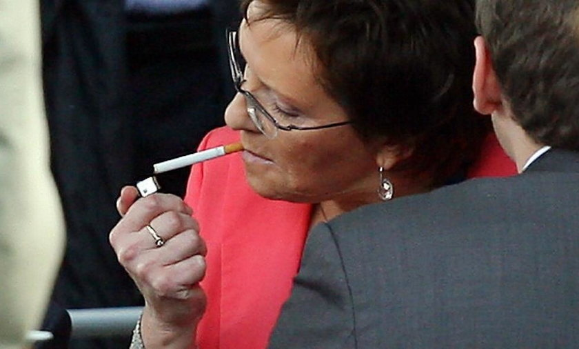 Kopacz rzuciła palenie